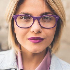 Ray-Ban Purple Lightforce Rx Eye Glasses